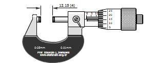 دریافت نرم افزار آموزش میکرومتر ۰٫۲۵ میلی متری با دقت ۰٫۰۱ میلی متر