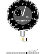 دریافت نرم افزار آموزش عمق سنج اندازه گیری با دقت ۰٫۰۰۱ میلی متری